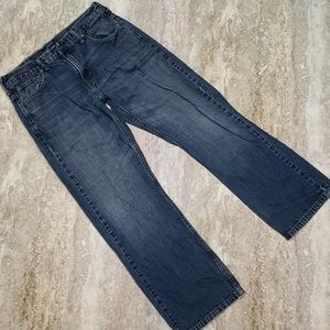 LEVIS MENS 569 LOOSE STRAIGHT JEANS 30X30